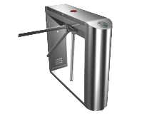 Stainless-Steel-Automatic-Waist-high-Pedestrian-Tripod-Turnstile