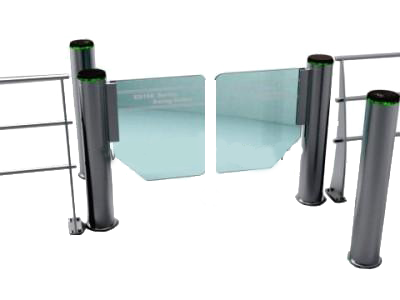 Luxurious-high-speed-cylinder-swing-barrier-gate