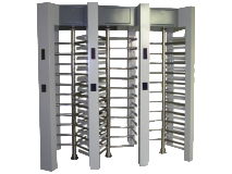 Stainless-steel-Triple-channel-access-control-system-full-height-turnstile