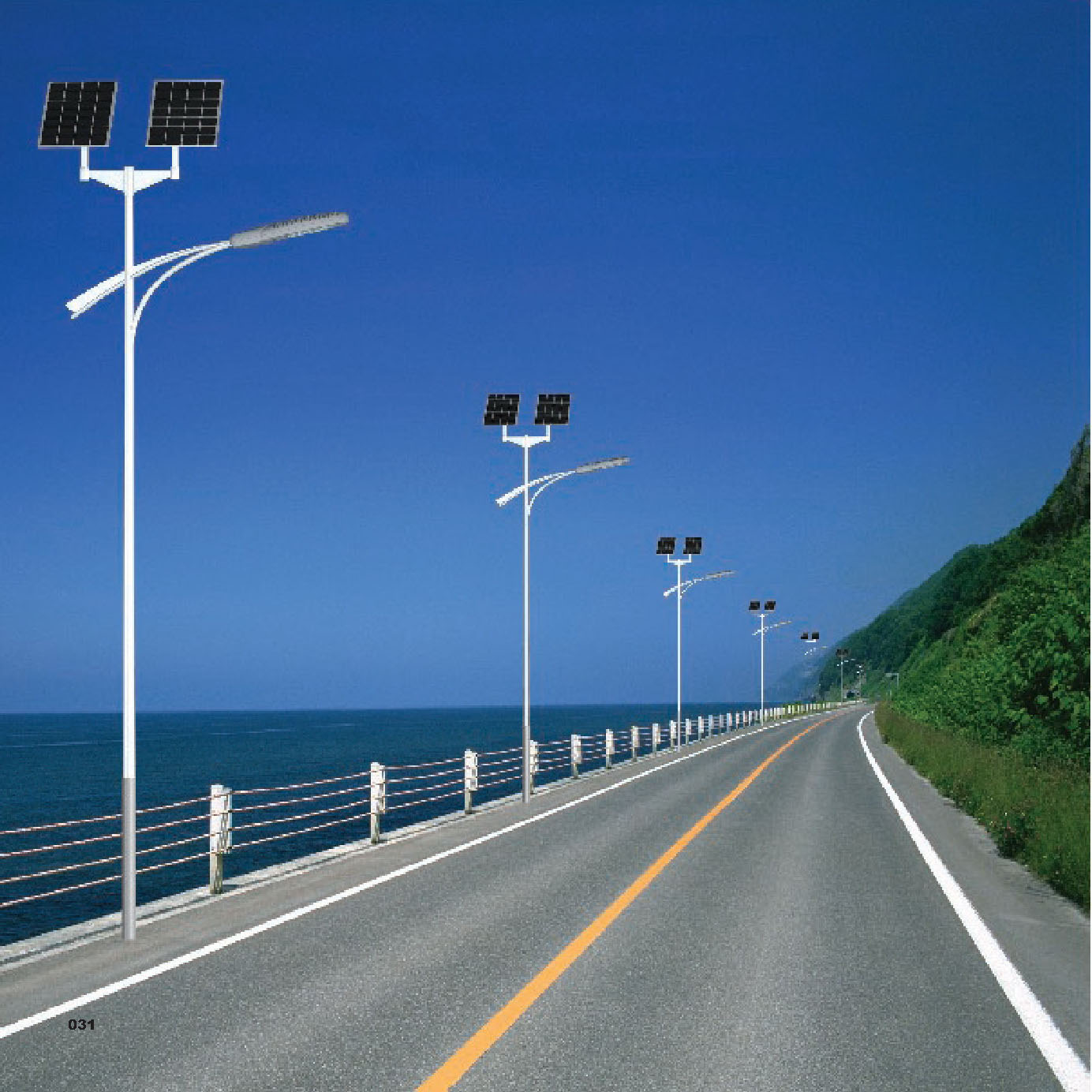 solar system solar led street light